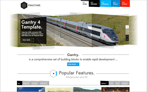 Fracture Template Website