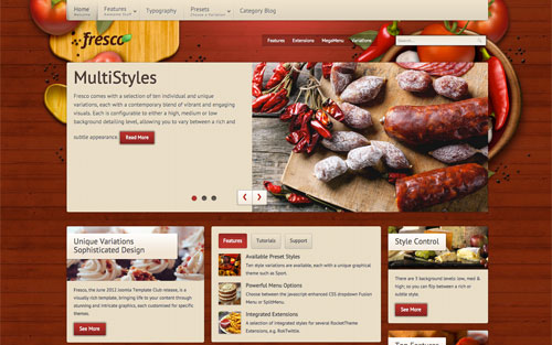 Fresco Template Website