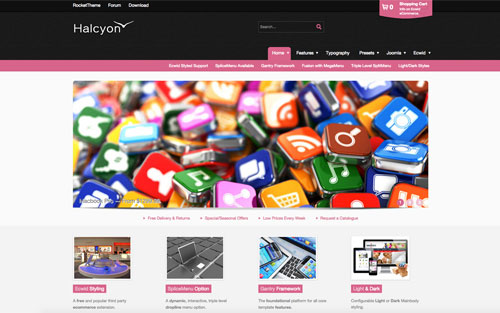 Halcyon Template Website